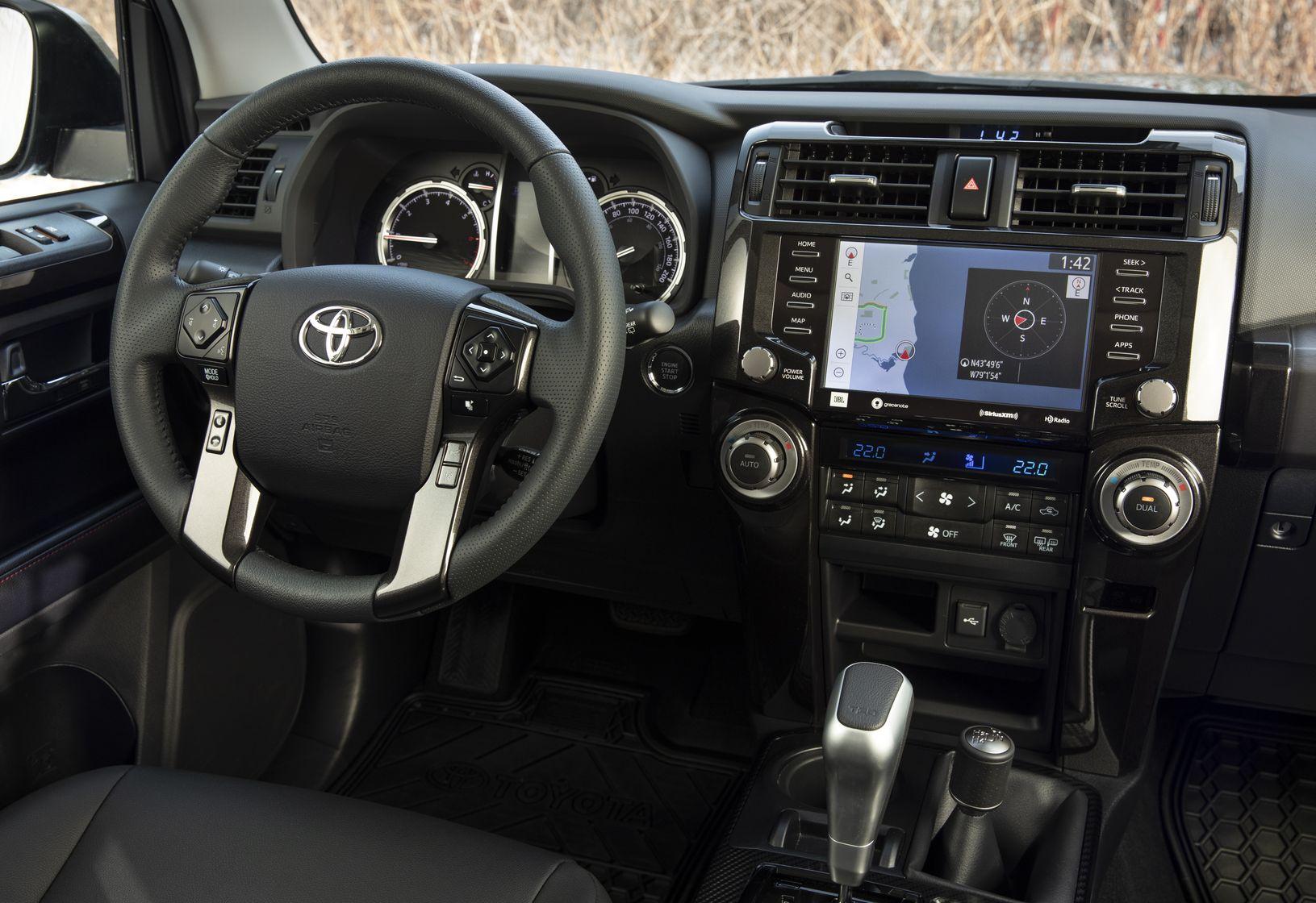 Intérieur du Toyota 4Runner 2020