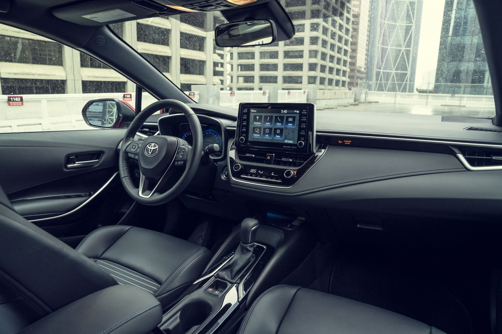 Intérieur de la Toyota Corolla 2020