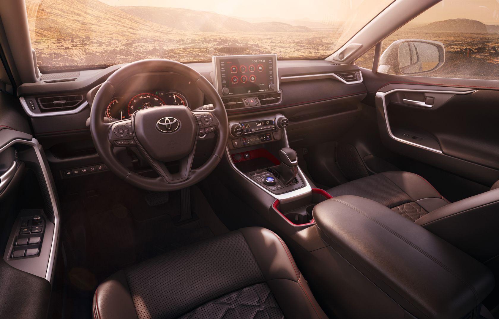 Intérieur du Toyota RAV4 2020
