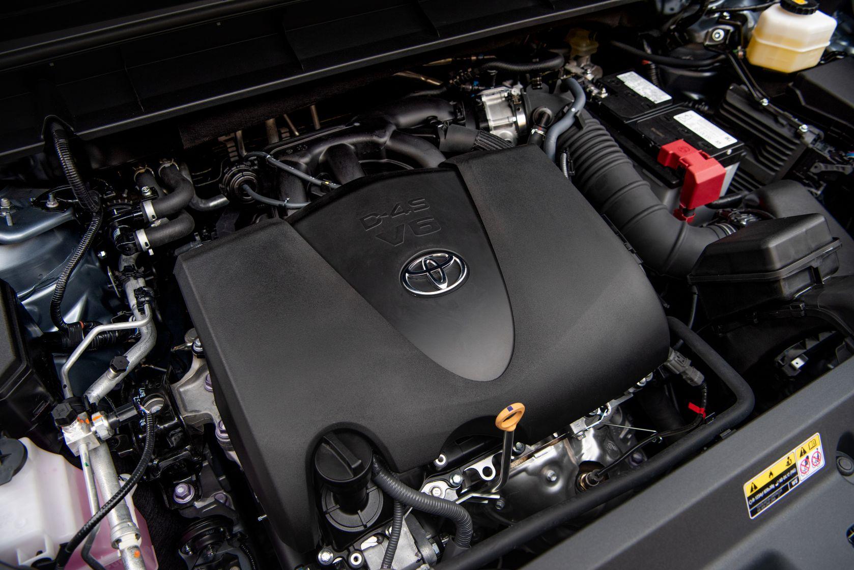 Moteur V6 du Toyota Highlander 2020