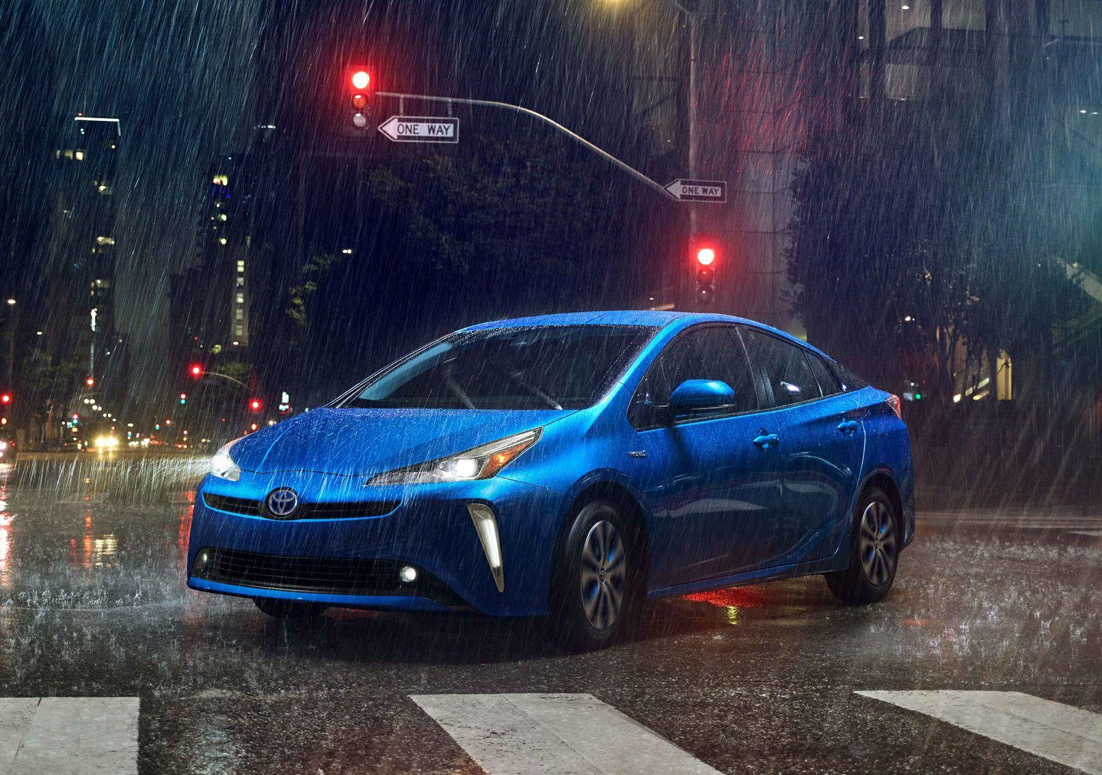 Toyota Prius 2020 bleue