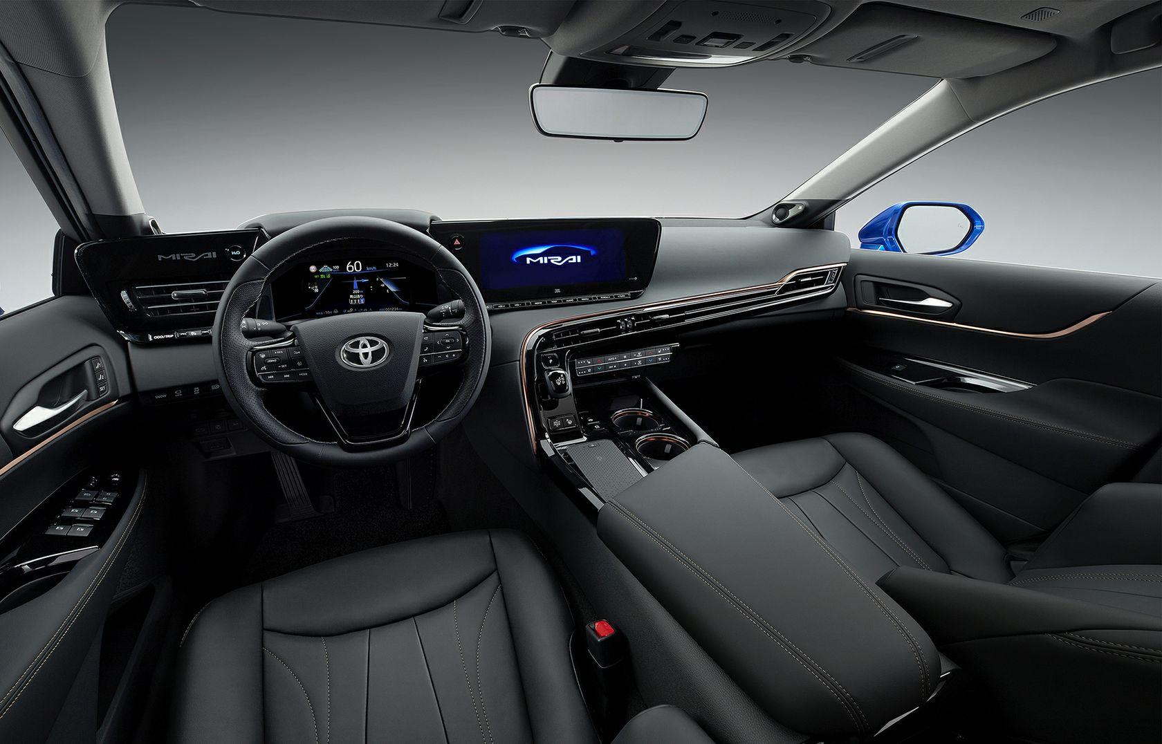 Intérieur de la Toyota Mirai 2021