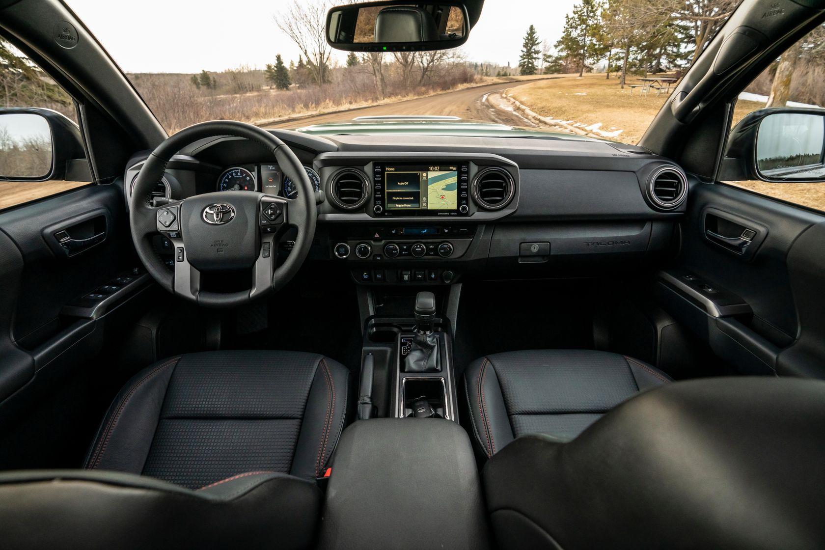 Intérieur du Toyota Tacoma 2020