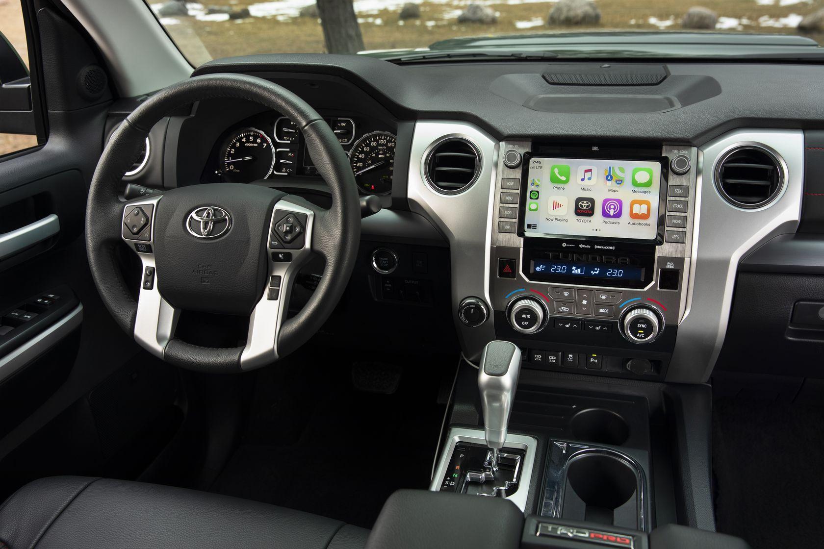 Intérieur du Toyota Tundra 2020