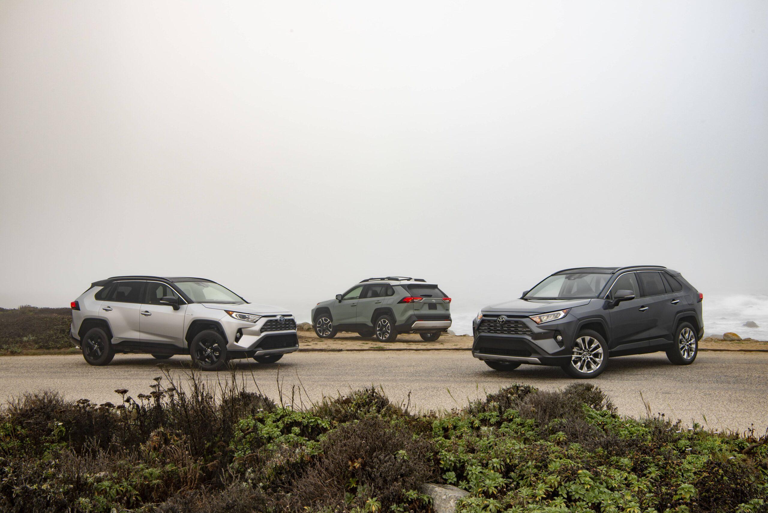 Groupe de Toyota RAV4 2020